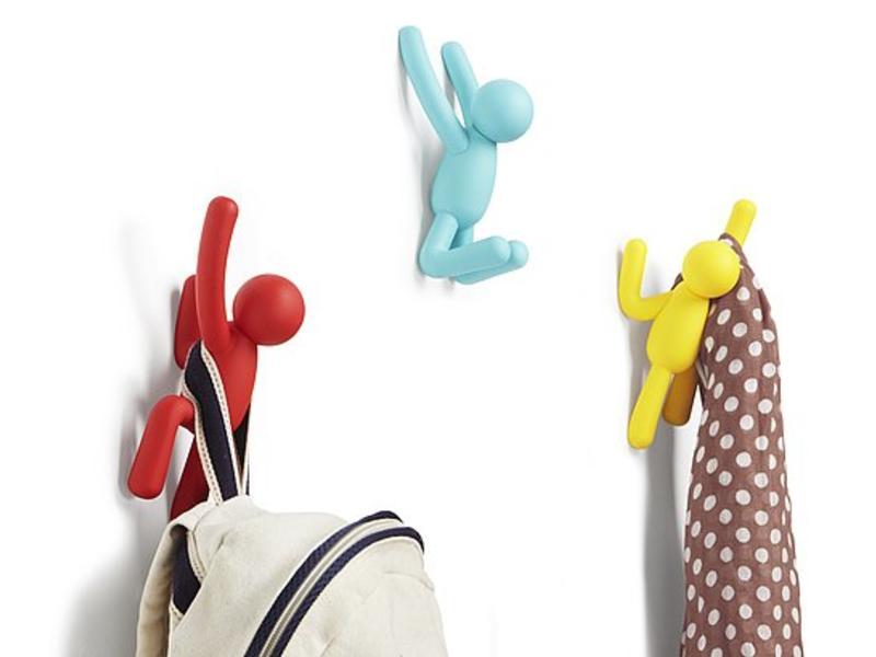 Umbra Wall Coat Rack 'Buddy Hooks' (multicolor)