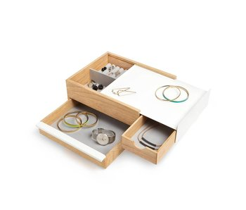 Jewelry Box 'Stowit' (white)