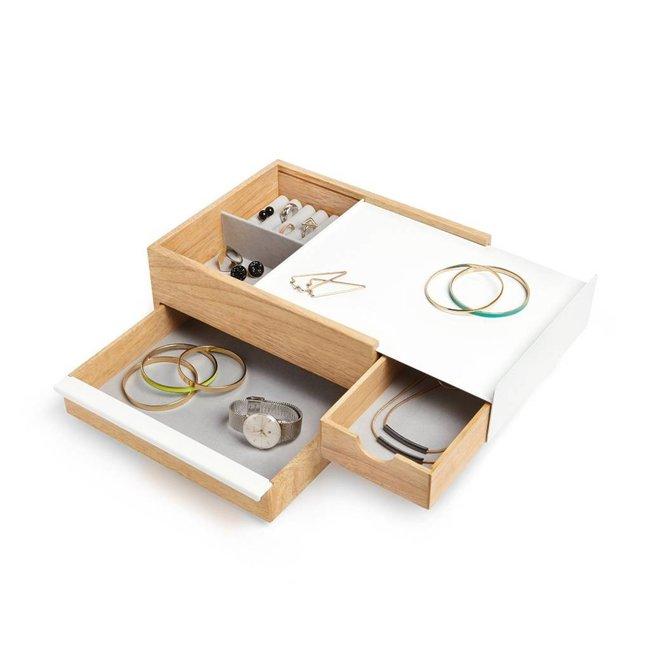 Jewelry Box 'Stowit' (white)