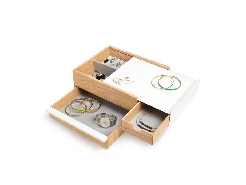 Umbra Jewelry Box 'Stowit' (white)