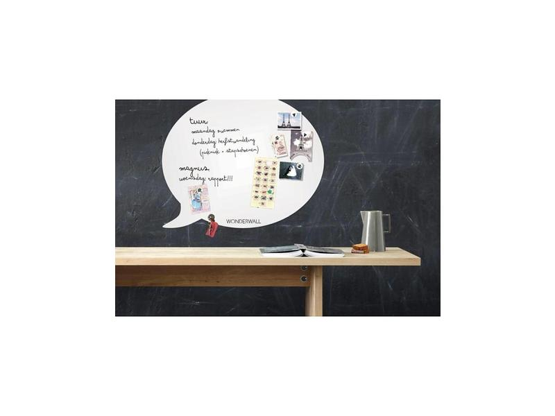 Wonderwall Wonderwall Magneetbord - Whiteboard Tekstballon (XL)