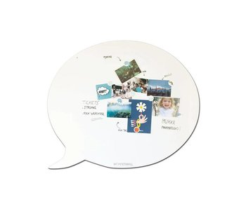 Magneetbord - Whiteboard Tekstballon (XL)