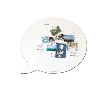 Magnetic Board & Whiteboard 'Speech Balloon XL'