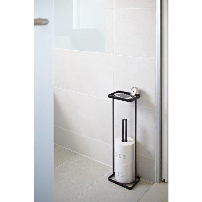 Yamazaki  Porte Papier-Toilette 'Open Tower' (noir)