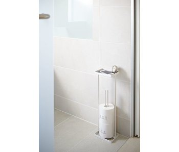 Toilet Paper Holder 'Open Tower' (white)