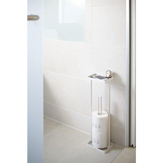 Yamazaki - Toilettenpapierhalter Open Tower - weiß