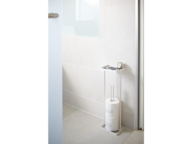 Yamazaki  WC-Rolhouder 'Open Tower' (wit)