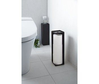 Toilet Paper Holder 'Closed Tower' (black)