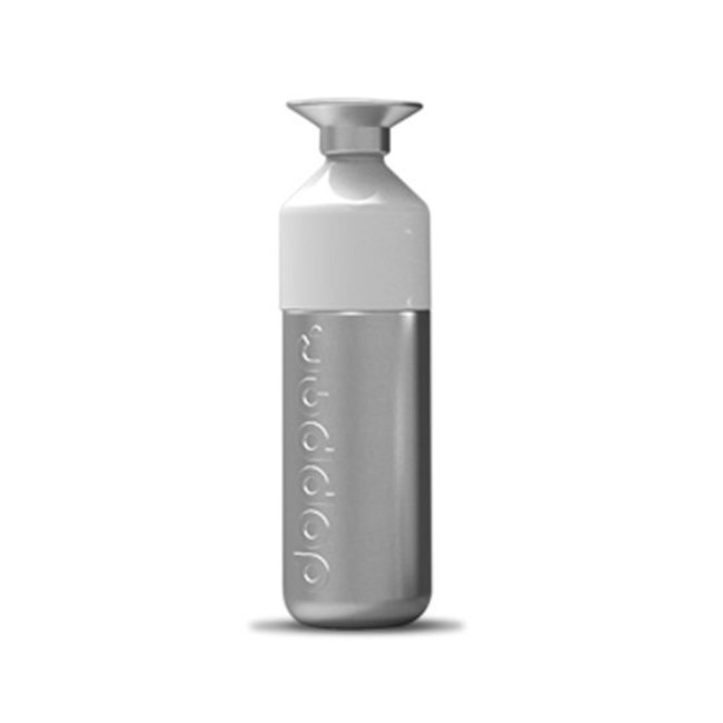 Dopper Waterfles 'Dopper Steel 800ml'