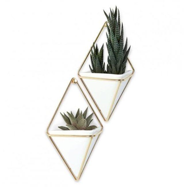 Umbra Wall Vessel Set 'Trigg' (gold)