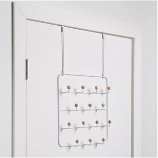 Umbra Wall- or Over-the-Door Organizer 'Estique 14 Hooks'