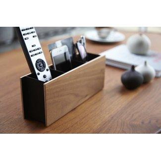 Yamazaki  Pen & Remote Houder 'Rin' (bruin)