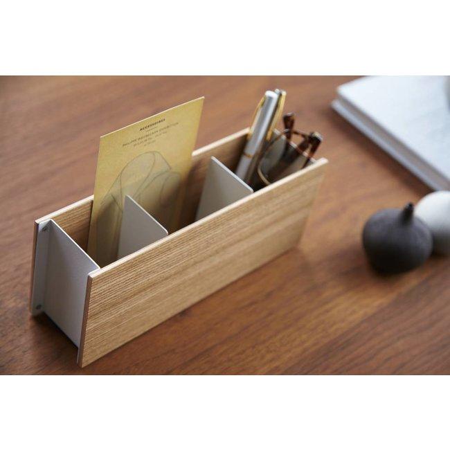 Pen & Remote Houder 'Rin' (natuur)