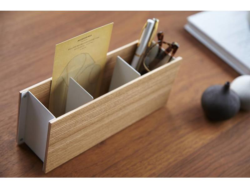 Yamazaki  Pen & Remote Houder 'Rin' (natuur)