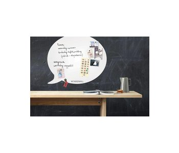 Magneetbord - Whiteboard Tekstballon (large)
