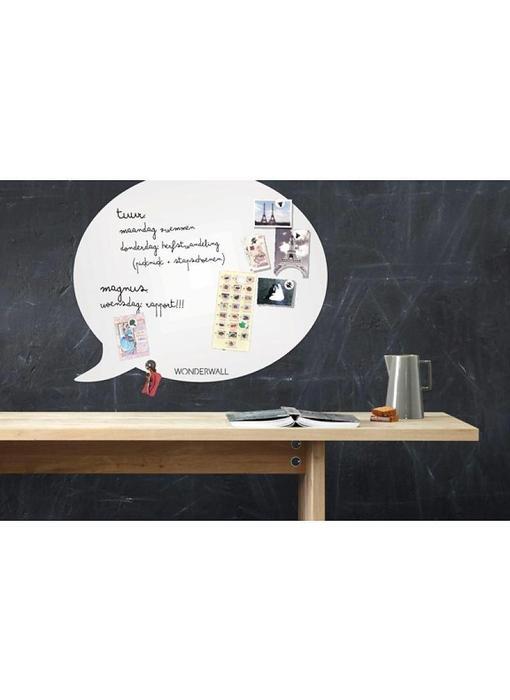 Magneetbord - Whiteboard Tekstballon (large)