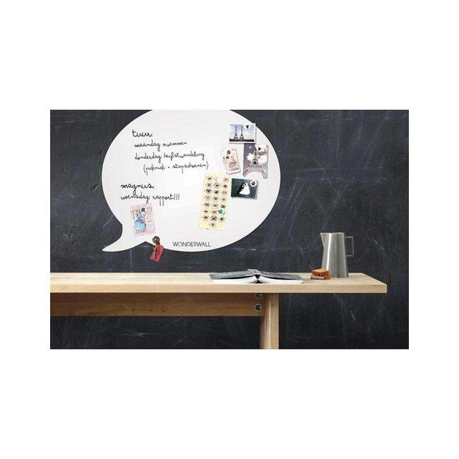 Wonderwall Tableau Magnétique - Whiteboard Bulle de Texte (large)