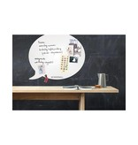Wonderwall Wonderwall Magneetbord - Whiteboard Tekstballon - medium - wit