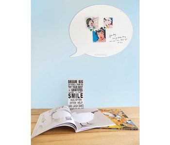 Tableau Magnétique - Whiteboard Bulle de Texte (medium)