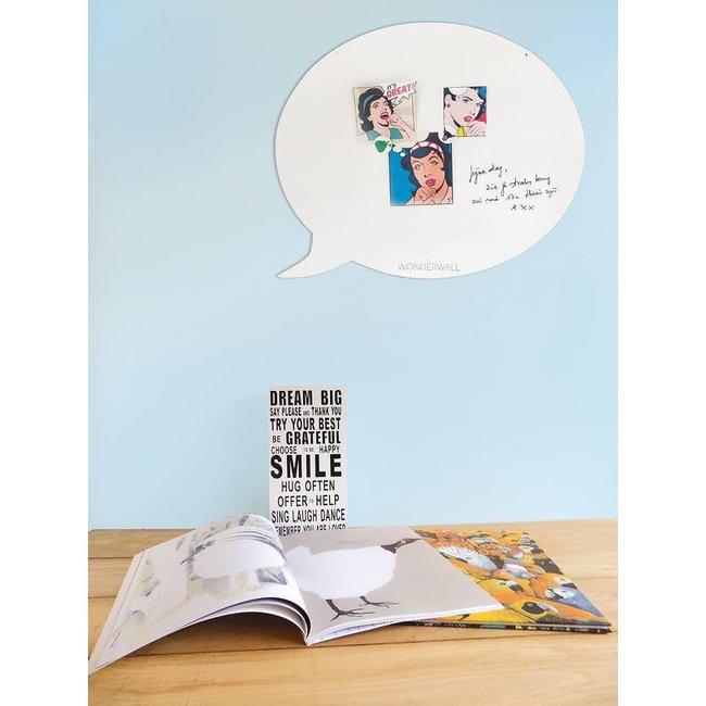 Magnetic Board - Whiteboard Text Balloon (medium)
