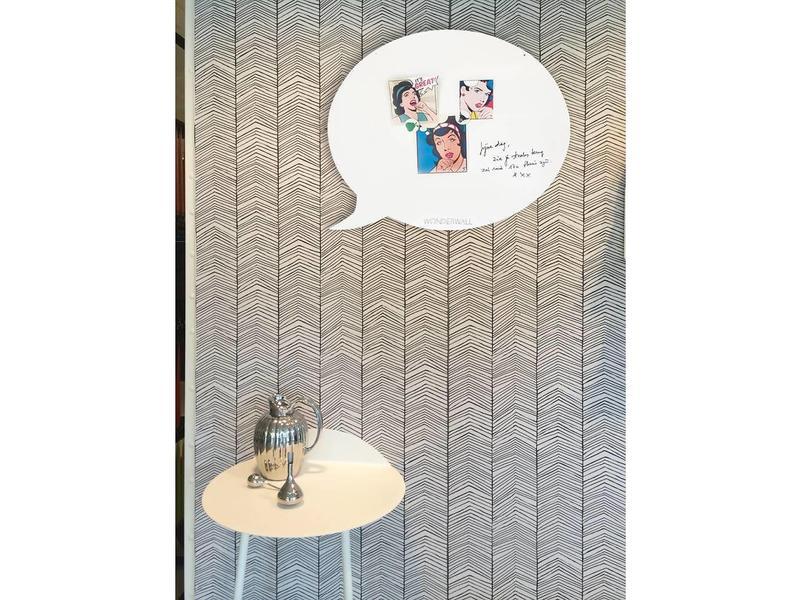 Wonderwall Tableau Magnétique - Whiteboard Bulle de Texte (medium)