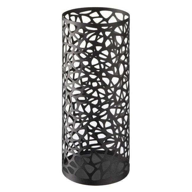 Umbrella Stand 'Nest' (round, black)