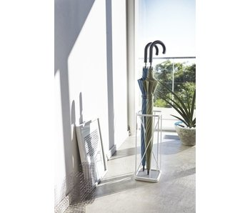 Umbrella Stand '9 Square' (white)