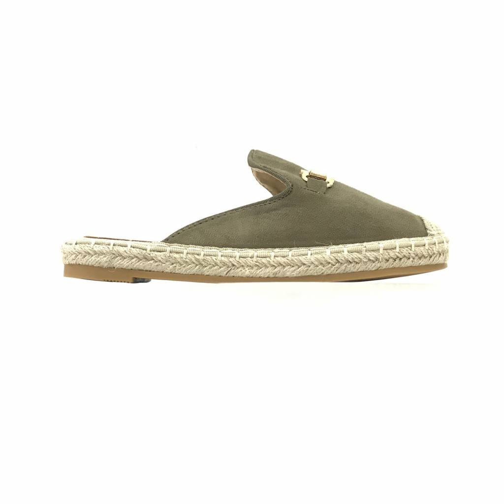 SUEDE ARMY LOAFERS