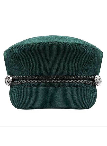 SAILOR CAP CORDUROY GREEN