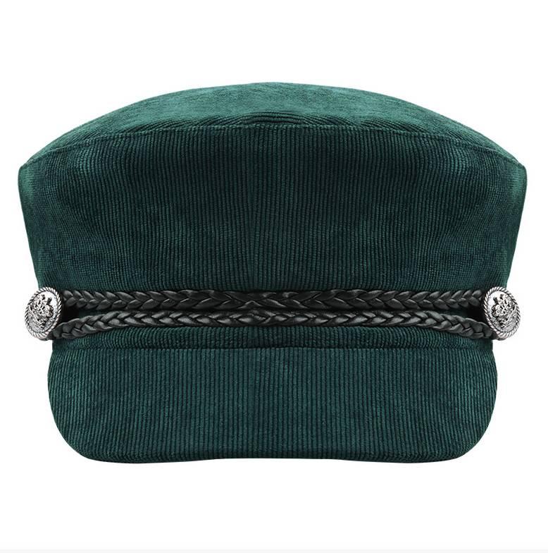 SAILOR CAP CORDUROY GREEN