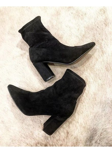 KATIE BLACK ANKLE BOOTS