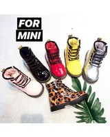 SHOES FOR MINI SILVER