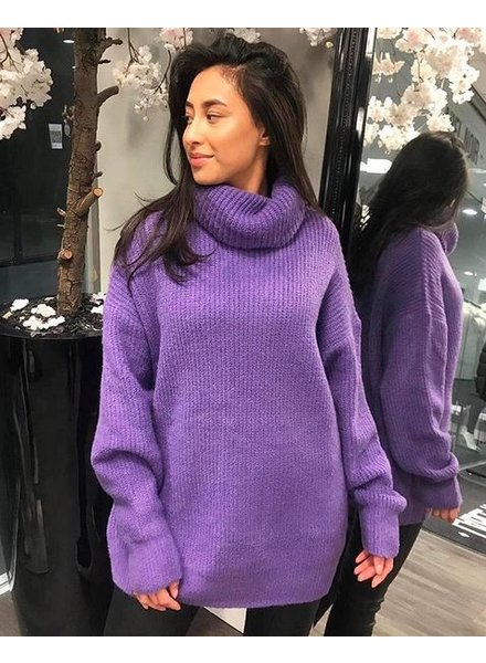 PERFECT PURPLE SWEATER