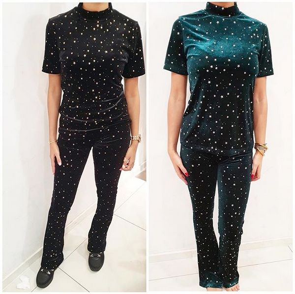 STAR SUIT GREEN