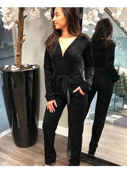 PARTY VELVET JUMPSUIT