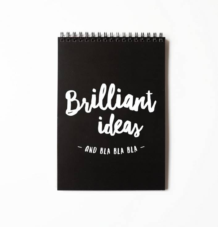 BRILLIANT IDEAS | NOTEBOOK