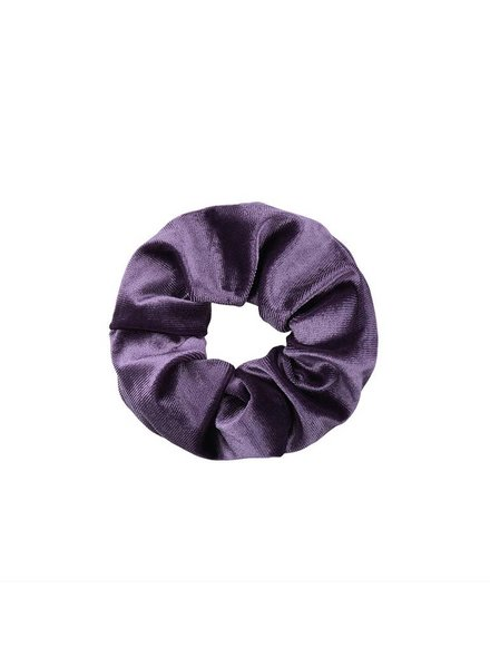 SCRUNCHIE VELVET PURPLE