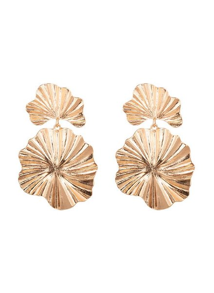 EARRINGS CORAL FLOWER