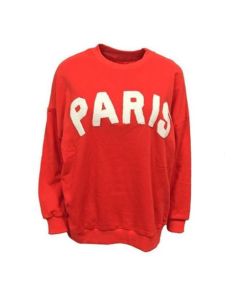 PARIS SWEATER RED
