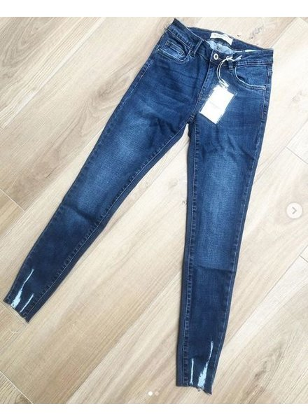QUEEN JEANS SKINNY BLUE