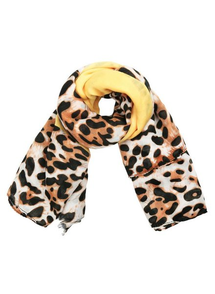 YELLOW LEO SCARF