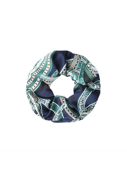 SCRUNCHIE ITALIAN BLUE
