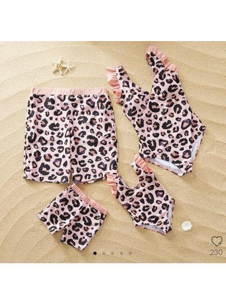 MOMMY LEO SWIMSUIT PINK
