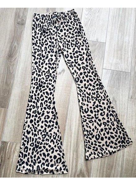 LEO STRETCH FLARED PANTS