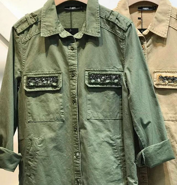 ARMY SPRING JACKET