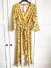 VOLANT SUMMER DRESS MAXI YELLOW