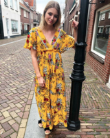 LARA DRESS YELLOW