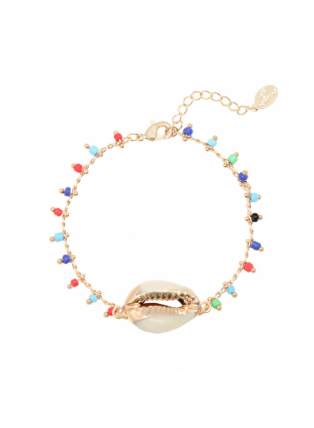 SUMMER SHELL BRACELET GOLD