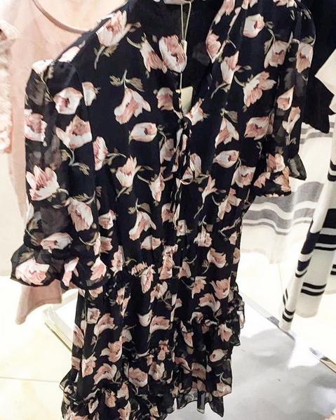 FLOWER DRESS 3.0 BLACK