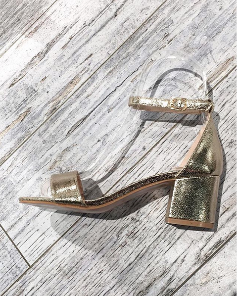 SUMMER SPECIAL GOLD SANDALS